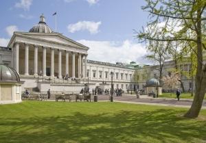 University College London's seductive neo-classical pillars.