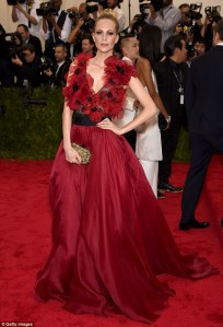 Poppy Delevigne in Marchesa